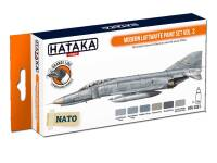HTK-CS61 Modern Luftwaffe paint set vol. 3 -- ORANGE LINE