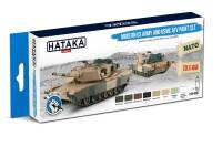 HTK-BS67 Modern US Army and USMC AFV paint set – BLUE LINE