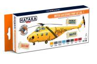 HTK-CS98 British SAR Service paint set vol. 1 -- ORANGE LINE