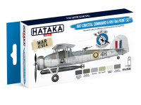 HTK-BS49 RAF Coastal Command & RN FAA paint set BLUE LINE