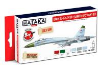 HTK-AS104 Early Su-27S/P/UB Flanker-B/C paint set