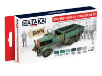 HTK-AS31 Early WW2 German AFV | panel lighting set