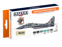 HTK-CS17 Modern Polish Air Force paint set vol. 1 ORANGE LINE