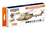 HTK-CS87 British AAC Helicopters paint set --> ORANGE LINE