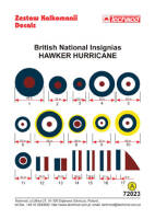 72023 British National Insignias - Hawker Hurricane