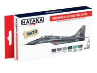 HTK-AS17 Modern Polish Air Force paint set vol. 1