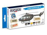 HTK-BS19 US Army Helicopters Paint Set – BLUE LINE