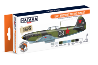 HTK-CS33 Early WW2 Soviet Air Force paint set --> ORANGE LINE