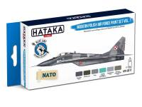 HTK-BS17 Modern Polish Air Force paint set vol. 1