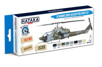 HTK-BS14 US Marine Corps Helicopters Paint Set – BLUE LINE