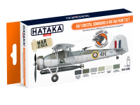 HTK-CS49 RAF Coastal Command & RN FAA paint set  -- ORANGE LINE