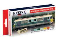 HTK-AS42 Polish Railways locomotives paint set vol. 2
