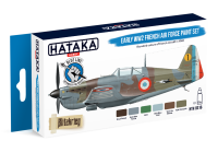 HTK-BS16 Early WW2 French Air Force paint set BLUE LINE