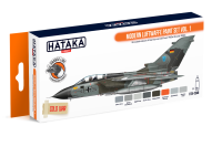 HTK-CS48 Modern Luftwaffe paint set vol. 1 --> ORANGE LINE