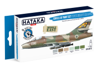 HTK-BS12 Israeli AF paint set (1970's desert colours) --> BLUE LINE