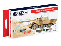 HTK-AS25 Modern French Army paint set