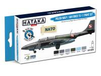 HTK-BS46 Polish Navy / Air Force TS-11 paint set – BLUE LINE