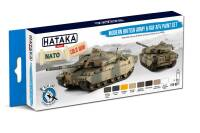 HTK-BS77 Modern British Army & RAF AFV paint set – BLUE LINE
