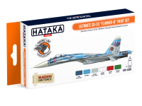 HTK-CS83 Ultimate Su-33 Flanker-D paint set --> ORANGE LINE