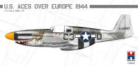 H2K72024 P-51B Mustang US Aces over Europe ex-Hasegawa