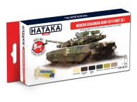 HTK-AS112 Modern Ukrainian Army AFV paint set – RED LINE