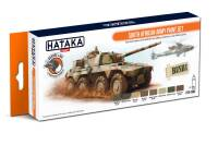 HTK-CS92 South African Army paint set -- ORANGE LINE