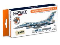 HTK-CS30 USAF Aggressor Squadron paint set vol. 2 -- ORANGE LINE