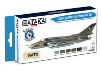 HTK-BS47 Polish Air Force Su-22M4 paint set – BLUE LINE
