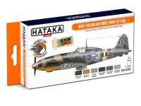 HTK-CS103 WW2 Italian Air Force Paint set vol. 1 -- ORANGE LINE