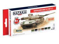 HTK-AS84 Modern Danish Army AFV paint set