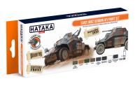 HTK-CS88 Early WW2 German AFV paint set --> ORANGE LINE