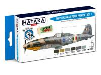 HTK-BS103 WW2 Italian Air Force Paint set vol. 1  – BLUE LINE