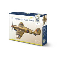 70044 Hurricane Mk II b trop Model Kit